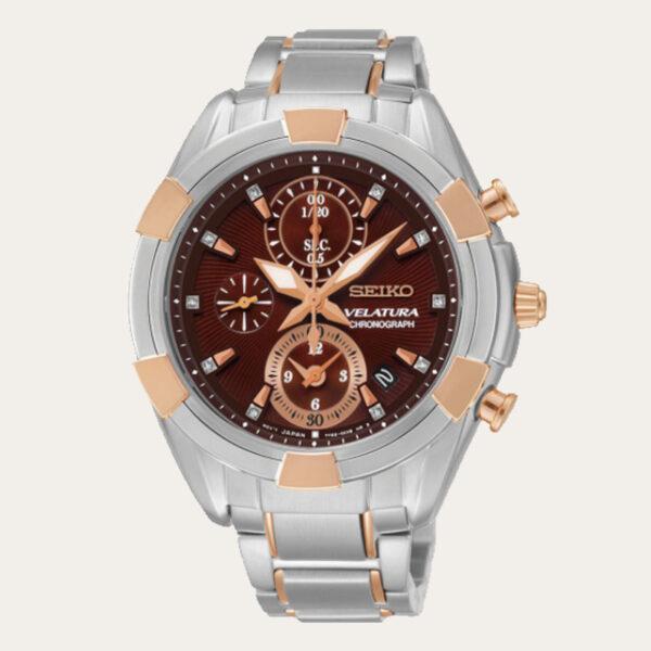 433e30587dd0 SEIKO Velatura Chronograph Ladies Watch SNDW12P1
