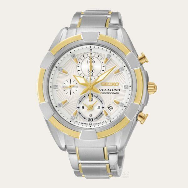 264776885e6f SEIKO Velatura Chronograph Ladies Watch SNDW14P1