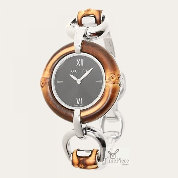 9f7fa94610b GUCCI Bamboo Ladies Watch YA132407