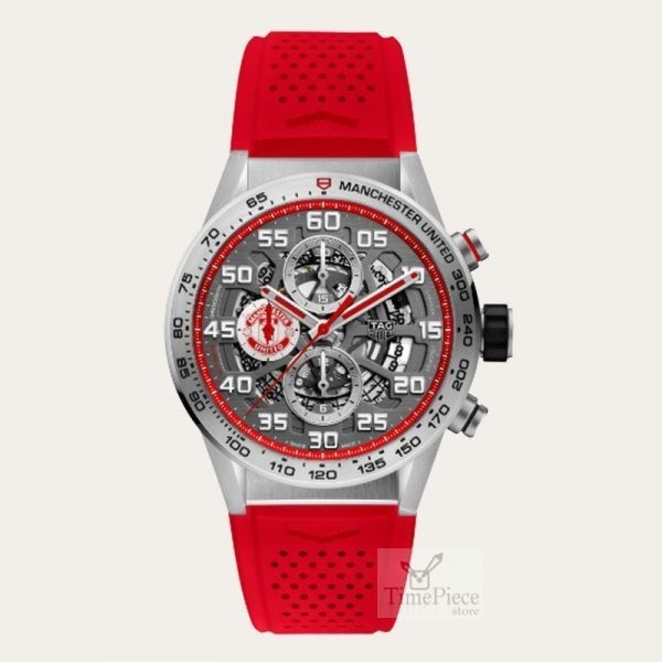 Tag Heuer Limited Edition Carrera Manchester United Men Watch Car201m Ft6156