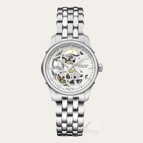 Hamilton Jazzmaster Viewmatic Skeleton Ladies Watch H32405111