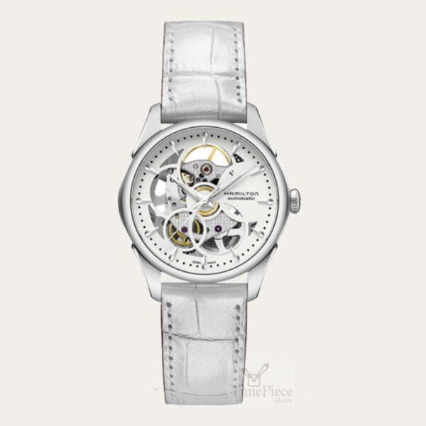 Hamilton Jazzmaster Skeleton Ladies Watch H32405811