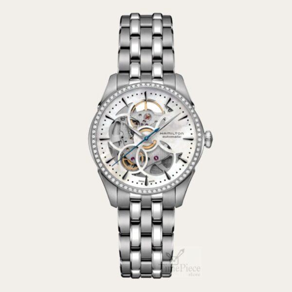 Hamilton Jazzmaster Viewmatic Skeleton Ladies Watch H42405191