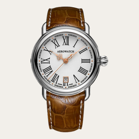 24924AA13 AEROWATCH 1942 Elegance Quartz Men Watch