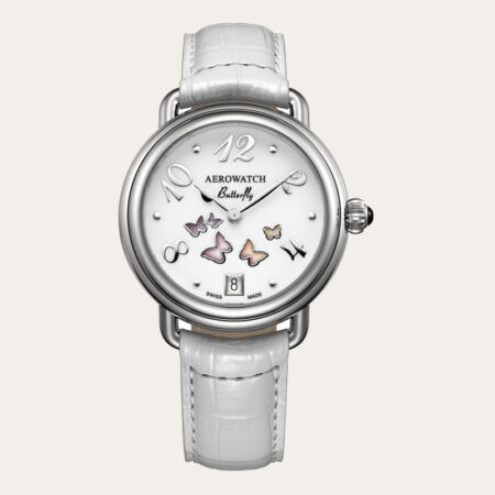 44960AA01 AEROWATCH 1942 Butterfly Ladies Watch