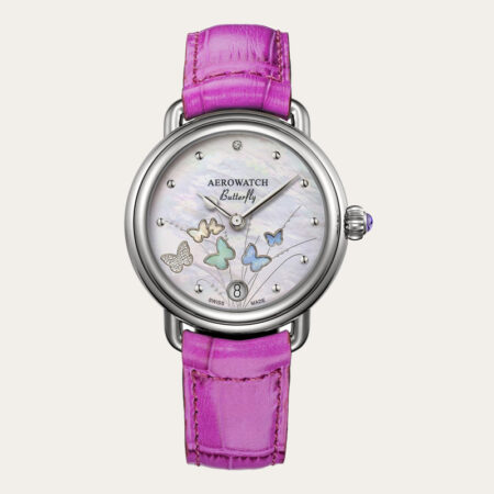 44960AA05 AEROWATCH Limited Edition 1942 Butterfly Ladies Watch