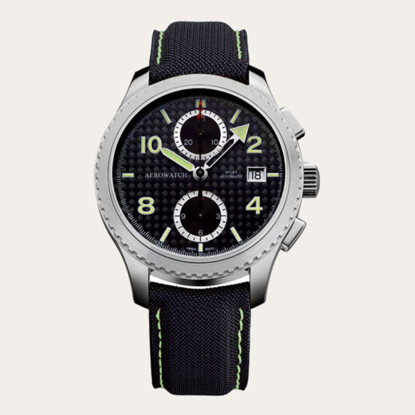 61929AA01 AEROWATCH Aeroplan Chronograph Men Watch